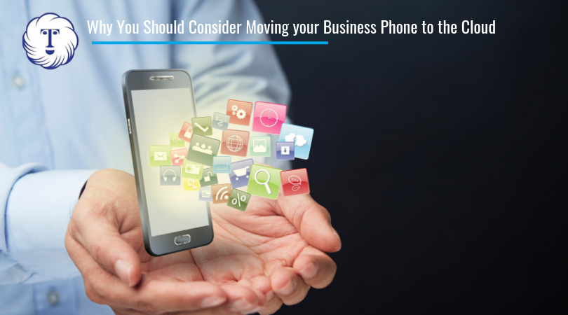 business phone into cloud